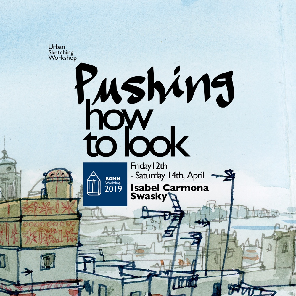 Pushing How to Look - a weekend in Bonn with Swasky and Isabel Carmona