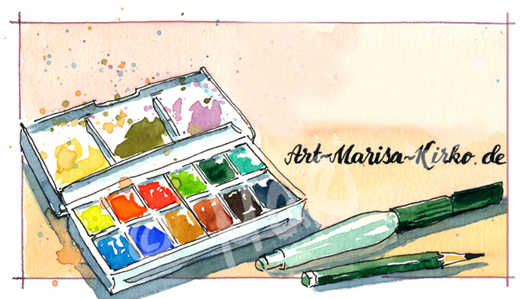 Offener Malabend (Aquarell)
